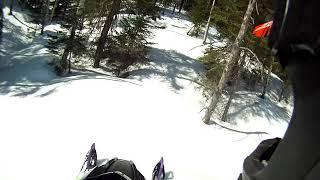 6. Arctic cat alpha one 165 tree riding