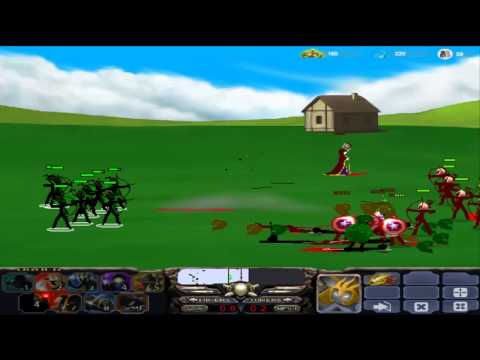 Stick War 2: Empires Online: Episode.2: Scary Speartons & Nice