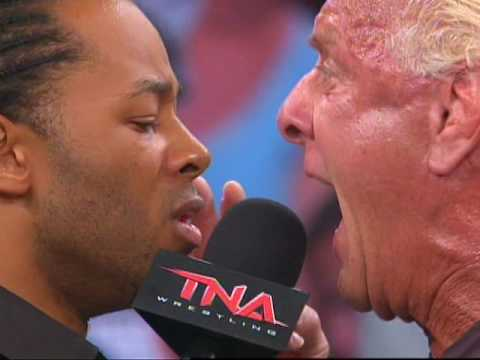 Jay Lethal And Ric Flair Face Off