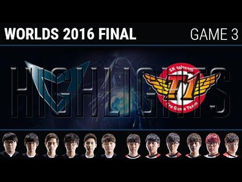 [CKTG 2016] Kết quả SK Telecom T1 vs Samsung Galaxy game 3 (30/10)