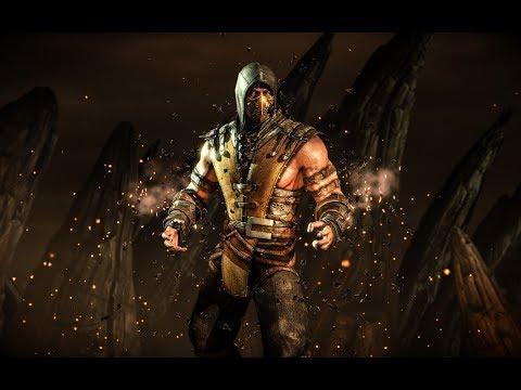 Mortal Kombat Scorpion Combos in all Variations