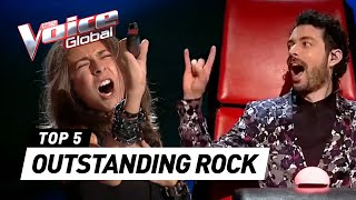 Download Video OUTSTANDING ROCK 🤟 AUDITIONS in The Voice Kids MP3 3GP MP4