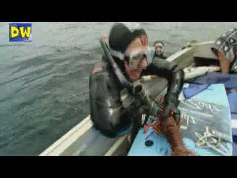 Pescando langostas