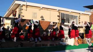 Primer encuentro folklórico extremeño en Madroñera (grupo Navalcarnero)