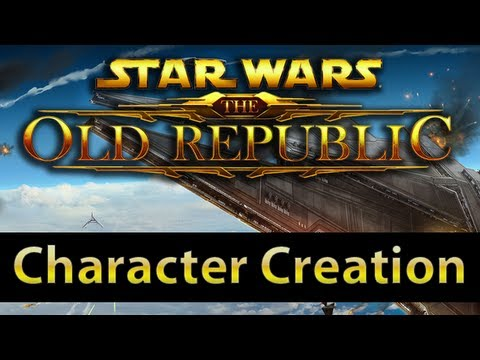 character creation - TotalBiscuit takes a look at the race/class combinations and the available aesthetic choices for characters in Star Wars : The Old Republic.