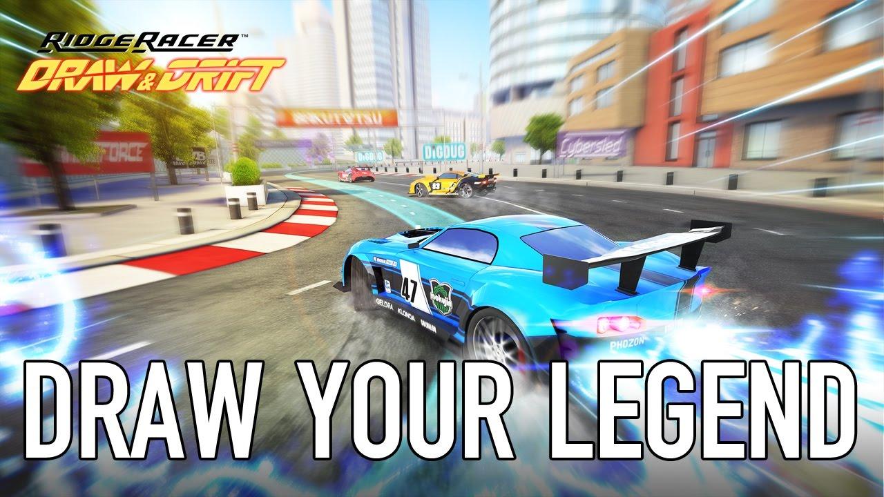 Ridge Racer Draw & Drift\', the Next Game in the Legendary Racing ...