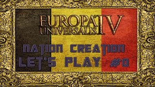 Belgium United States  City pictures : Europa Universalis 4 United States of Belgium #0 Nation Creation