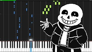 Megalovania - Undertale [Piano Tutorial]