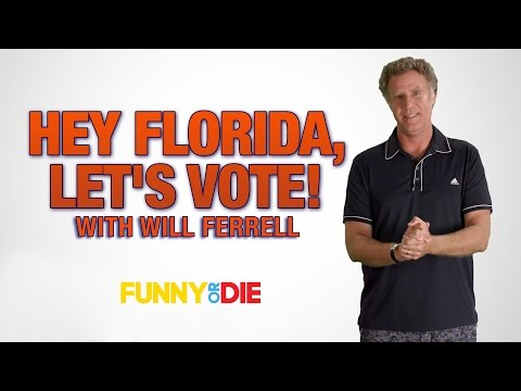 Will Ferrell Wants Everyone in Florida to Vote