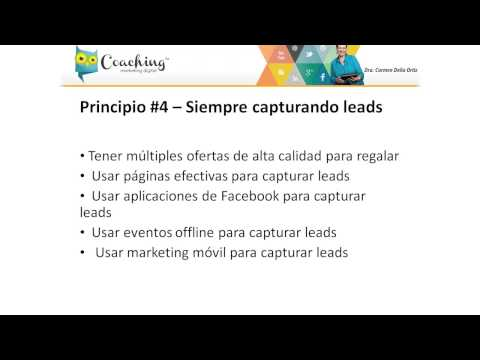 7 principios del Marketing Digital en 2014 #4: Siempre debes capturar contactos