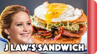 Making A Sandwich For Jennifer Lawrence | Step Up To The Plate by SORTEDfood