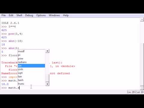 Python Programming Tutorial – 4 – Modules and Functions