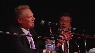 VIDEO: Highlights of Doug Ford's first mayoral debate