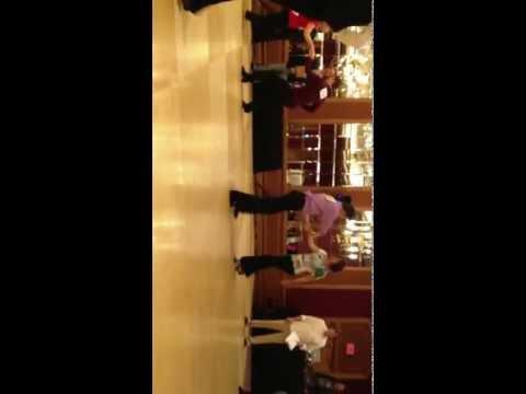 Swing Niagara 2012 - Christopher Wrigley & Elisha Monzella J&J Novice 2nd Place in WCS #3
