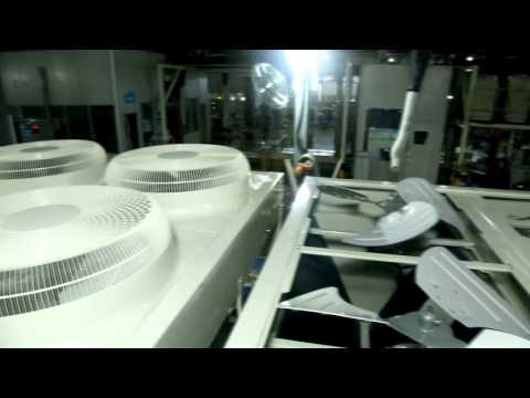 Производство чиллеров MDV серии Aqua Tempo Power