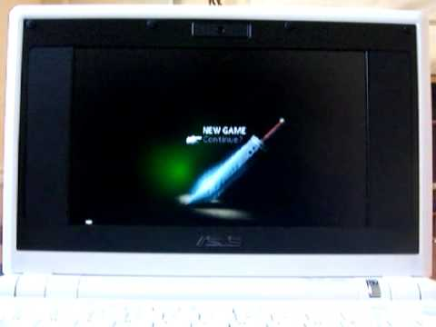 Playing Final Fantasy on the ASUS Eee PC