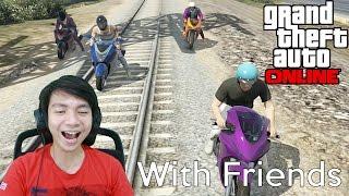 Video Gila Balapan - Grand Theft Auto V Online - GTA 5 With Friends MP3, 3GP, MP4, WEBM, AVI, FLV Agustus 2019