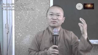 Dẫn nhập Triết học Phật giáo (2014) 08: Quan điểm của đức Phật về dân chủ, nhân quyền và bình đẳng
