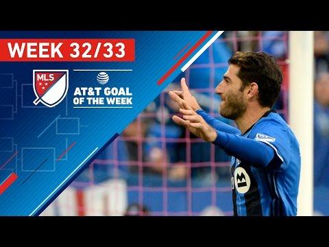 MLS Week 32:  Goals of the Week