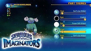 Unleash your imagination and bring the Skylanders to life using the creator tool within the Skylanders Imaginators console game. It's easy, endless fun for e...