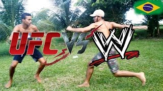 Download Lagu UFC VS WWE - REAL FIGHT #1 Mp3
