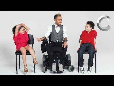 Kids Meet a Guy with Muscular Dystrophy