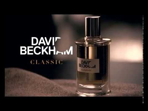 David Beckham Classic Aftershave Ad