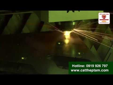 Gia công các sản phẩm cơ khí chính xác bằng máy cắt laser fiber kim loại