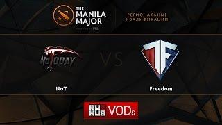 NT vs Freedom, game 2