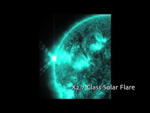 Las llamaradas solares más grandes del año