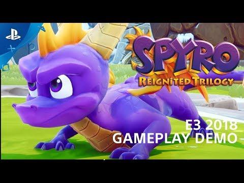 Gameplay E3 2018 PlayStation de Spyro Reignited Trilogy