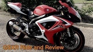 8. Suzuki GSXR 600 Ride and Review