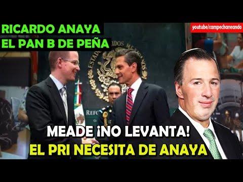 Meade No Levanta, Peña Nieto usará a Ricardo Anaya - Campechaneando