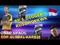 TOP GLOBAL BANE VS TOP GLOBAL KARRIE! WKWKWK