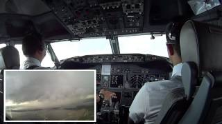 Download Video CUMULONIMBUS DISSIPATING STAGE - COCKPIT VIEW AT BALI MP3 3GP MP4