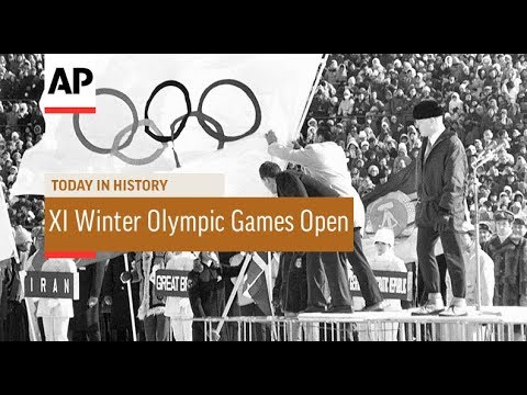 XI Winter Olympic Games Open - 1972   Today In History   3 Feb 18