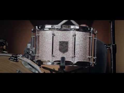 SJC 14x8 Bermuda Sand Sparkle Snare Drum