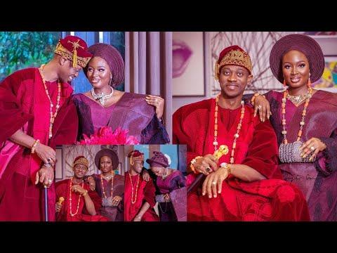 Yoruba Actor Lateef Adedimeji & Bimpe Oyebade Finally Celebrate Their Traditional Wedding, CONGRATS