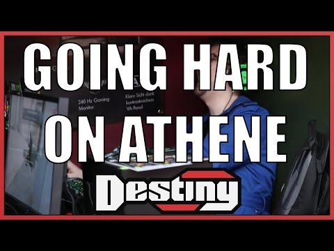 Going HARD on Athene and his \