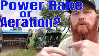 Video Differences between power raking and Lawn Aeration.  What is power raking? What is lawn aeration? MP3, 3GP, MP4, WEBM, AVI, FLV Oktober 2018