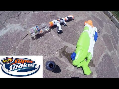 Pistole acqua Nerf Super Soaker: Barrage triplo getto + universale