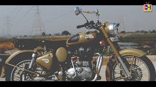 8. ROYAL ENFIELD CLASSIC 500 DESERT STORM - REVIEW
