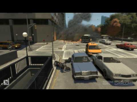 GTA - This is my third GTA Video with many Stunts and some other silly stuff.