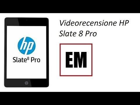 HP Slate 8 pro recensione ita da EsperienzaMobile
