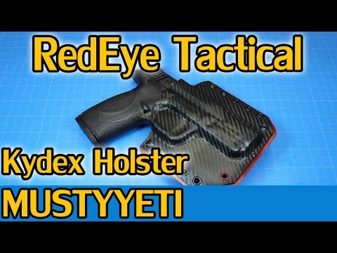 mustyyeti - Facebook: www.facebook.com/MustyYetisTacticalHQ Instagram: www.instagram.com/MustyYeti Today we are taking a look at a Kydex holster from RedEye Tactical. Th...