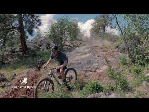 The New Granite Bike Trail at Predator Ridge
