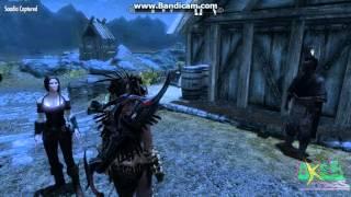 Skyrim - Saadia captured