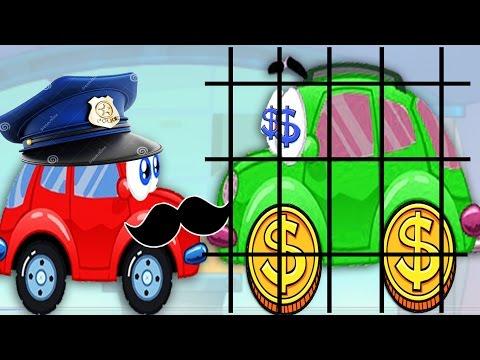 Машинка ВИЛЛИ [7]-1 Мультик игра для детей. Wheely 7 (видео)