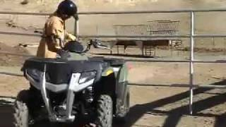 9. ATV Television Test - 2007 Polaris Hawkeye