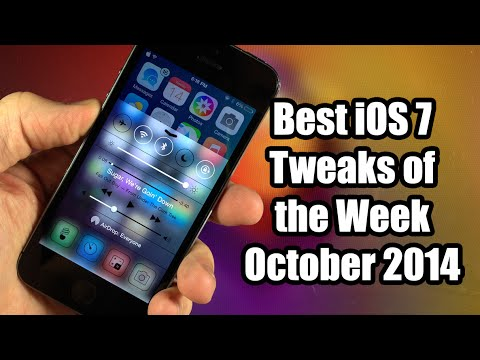tweaks - Here are the best iOS 7 Cydia Tweaks of the Week! iPhone 6 Review! http://bit.ly/1xGEIa7 iPhone 6 Plus Review! http://bit.ly/1sOHEBP ------------------------...